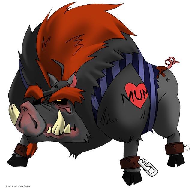 Bull the Razorback