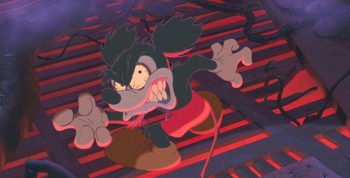 Feral Mickey