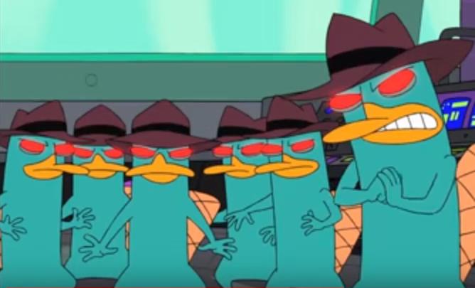 Evil Platypus Clones