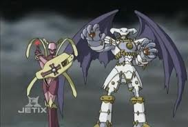 Crusadermon and Dynasmon