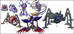 Keramon evolution line.png