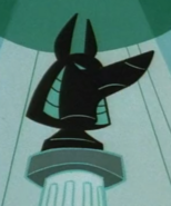 Head of Anubis