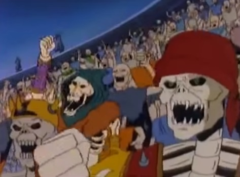 Army of Skeleton Warriors