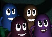 Ghosts Pacman CGI