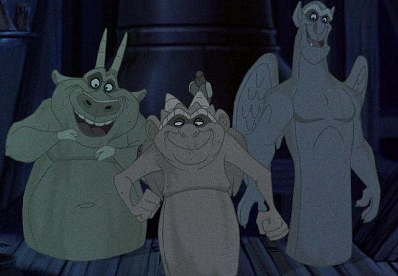 Victor, Hugo, and Laverne