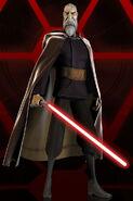 Count Dooku. CGI