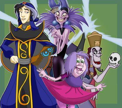 Disney Villains Sorcerer's Society.jpg