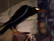 Queen Grimhilde's Raven