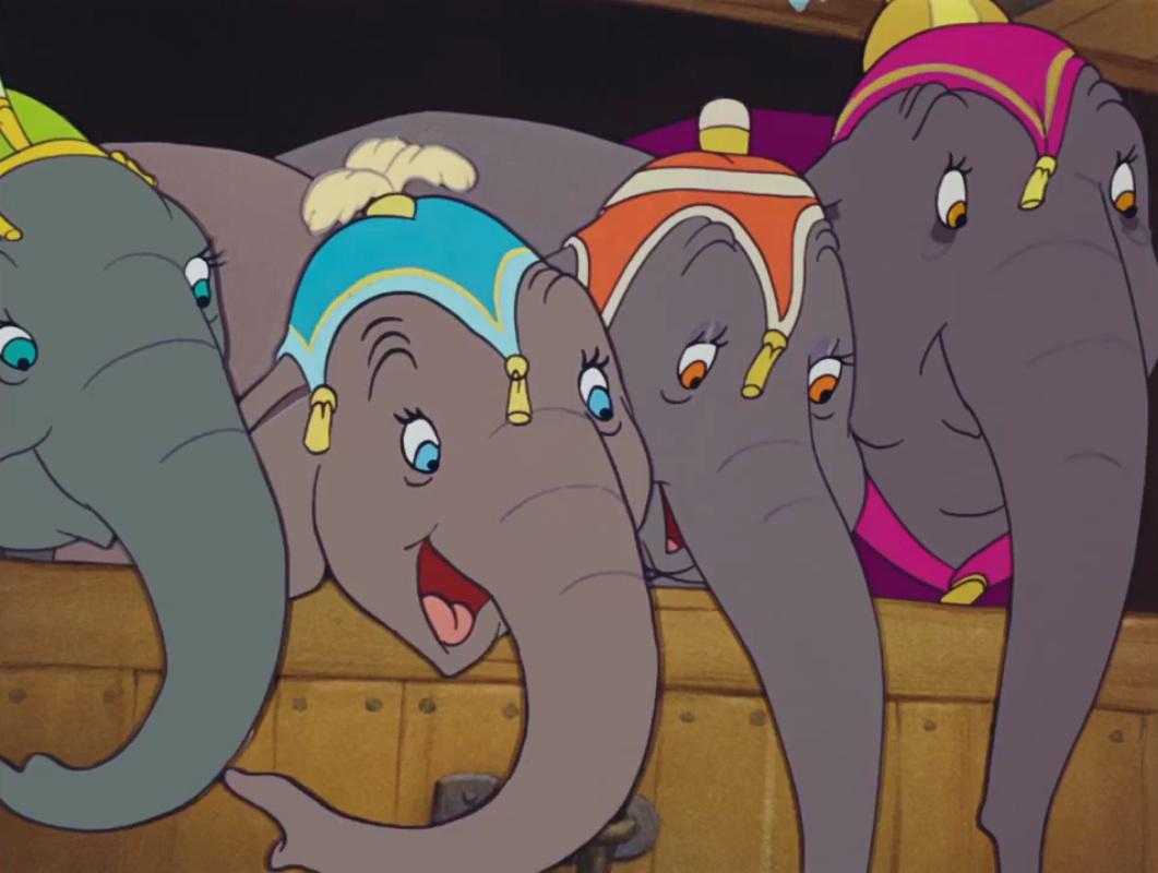 The Elephants (Dumbo)