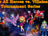 Free For All Heroes vs. Villains War Tournament