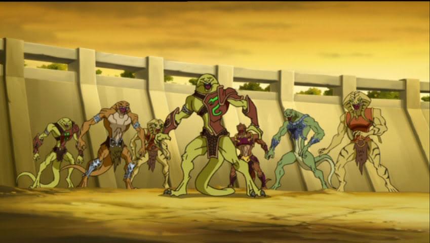 Snakemen Warriors