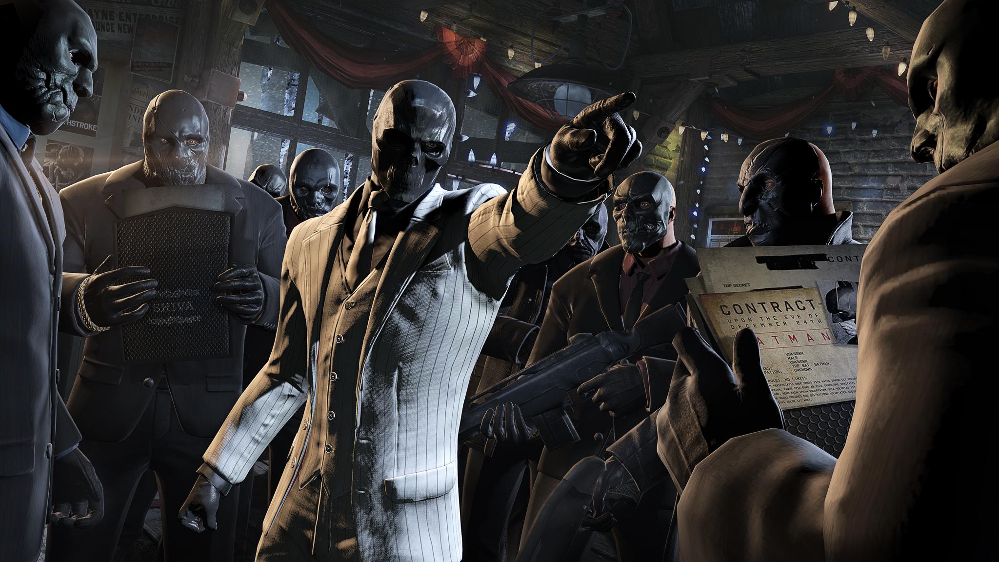 Black Mask's Henchmen