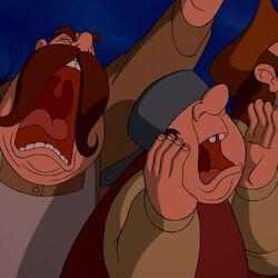Gaston's Angry Mob