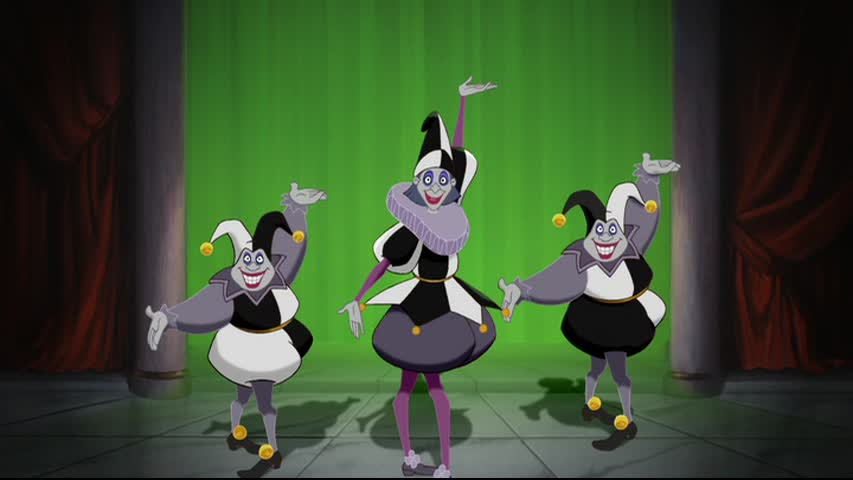 Evil Clowns (Pocahontas)
