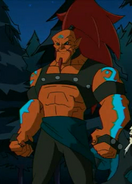 Hak Foo Dark Chi Warrior
