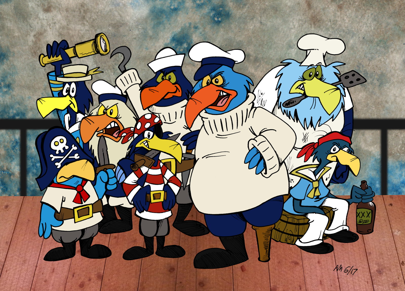 The Pirate Penguins (Count Duckula)