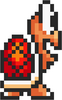 Koopa Troopa SMB3 SNES Sprite Standing Right Red