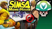 Vinesauce Joel - The Sims 4 Meme House