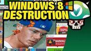 Vinesauce Joel - Windows 8 Destruction
