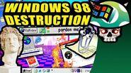Vinesauce Joel - Windows 98 Destruction