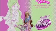 Winx Club Flora All Transformations Up To Dreamix HD