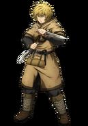 Thorfinn anime design