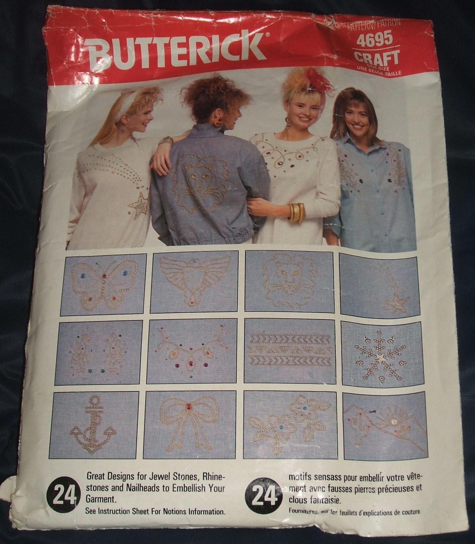 Butterick 4695 B