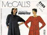 McCall's 2185 B