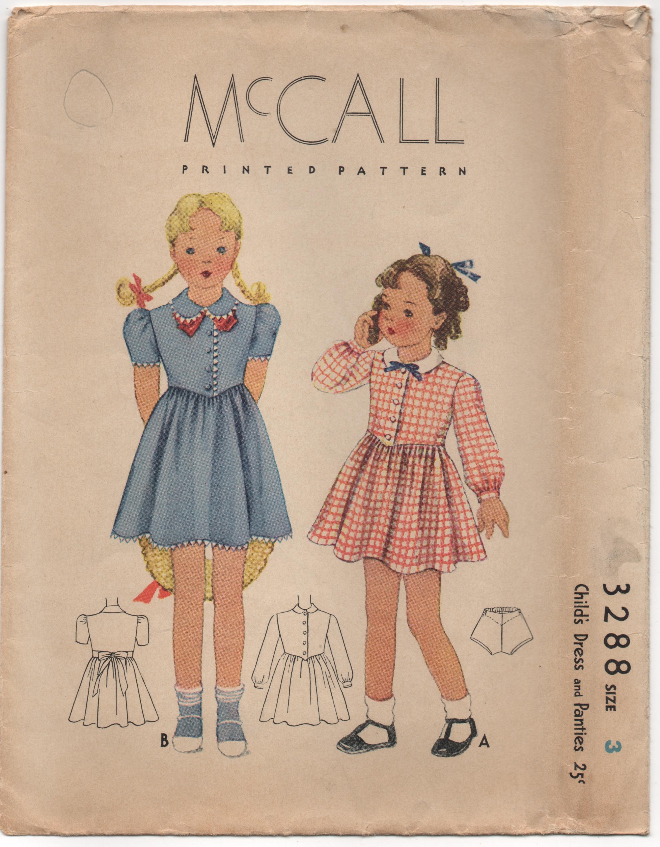 McCall 3288