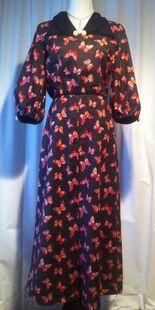 Butterick 5764 1930s day dress1