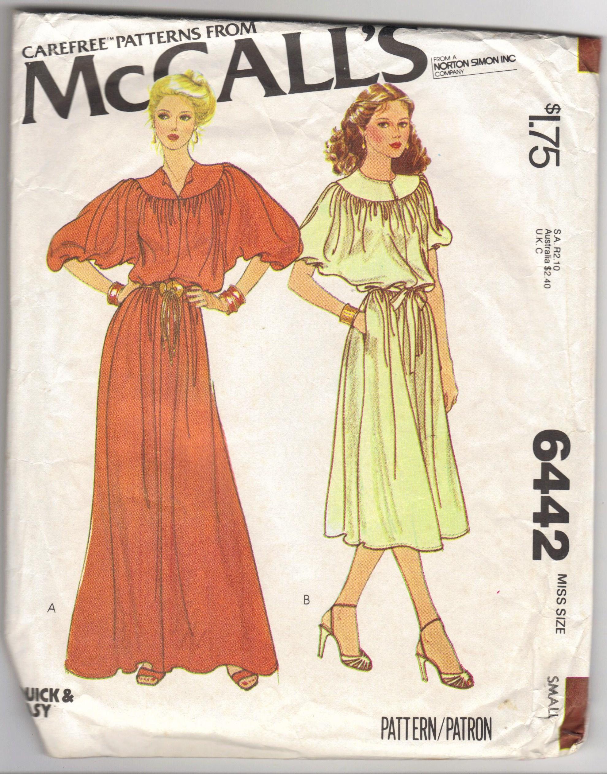 McCall's 6442