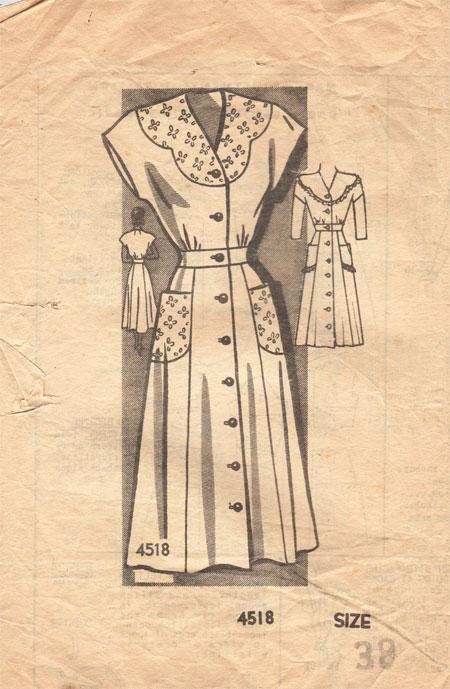 Anne Adams 4518 B