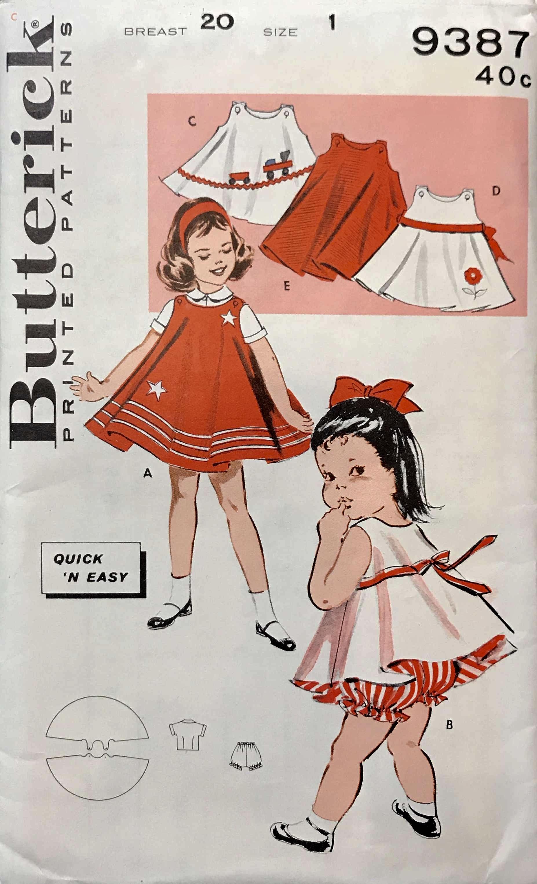 Butterick 9387