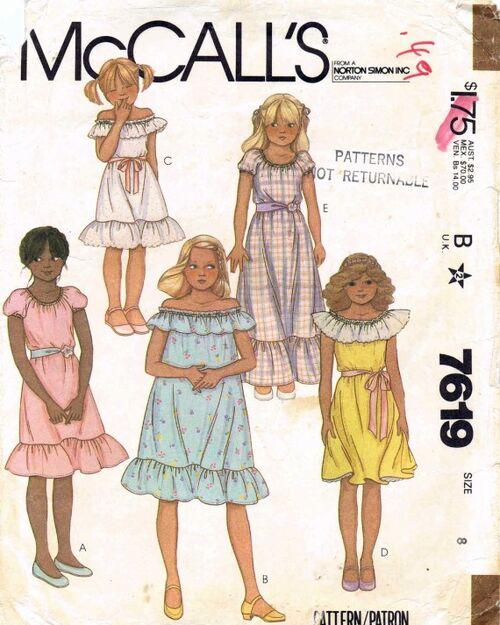 McCall's 7619