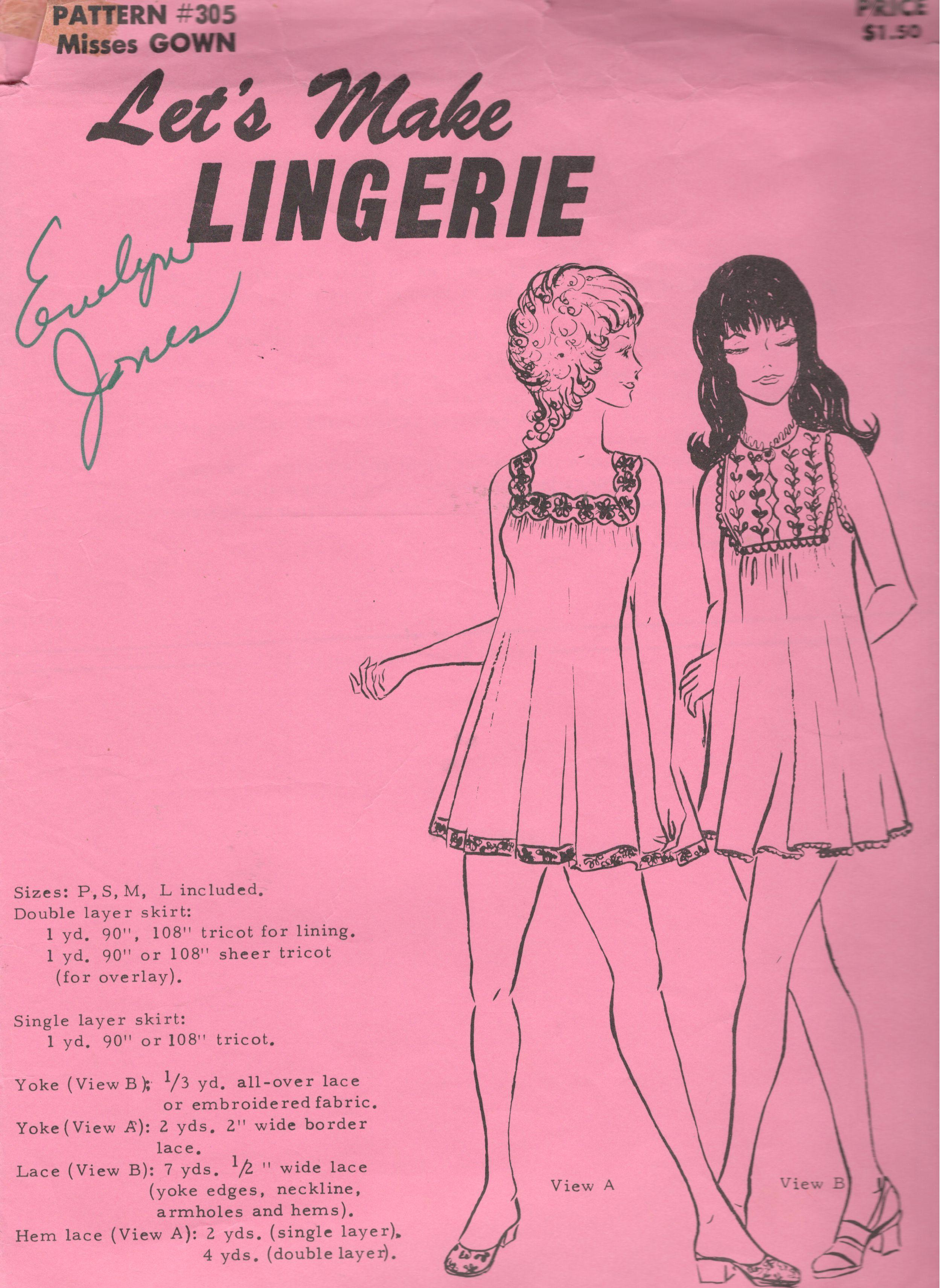 Let's Make Lingerie 305