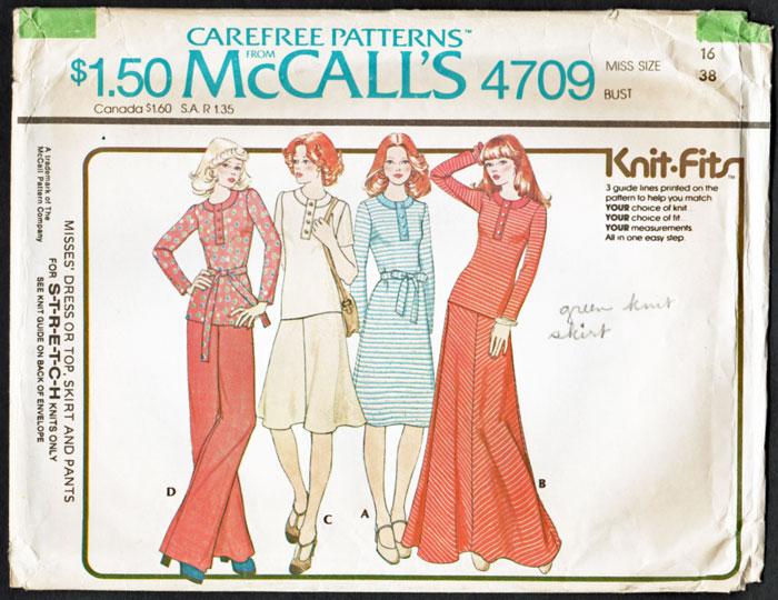 McCall's 4709