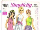 Simplicity 7691 B