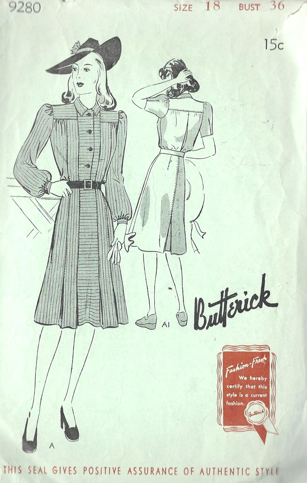 Butterick 9280