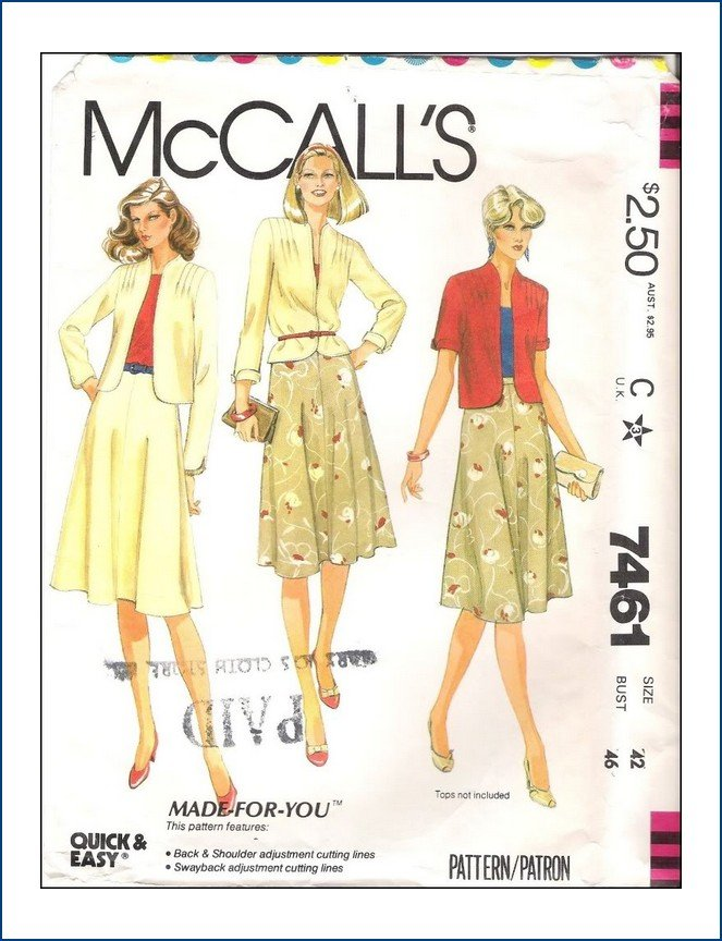 McCall's 7461