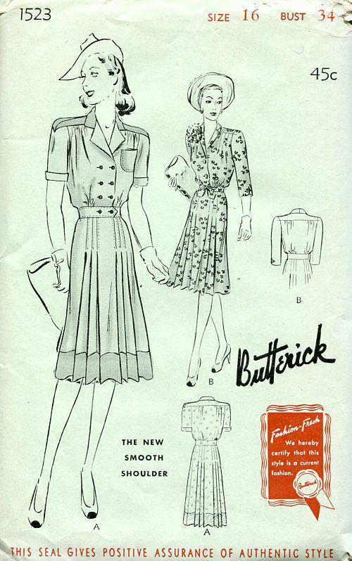 Butterick 1523