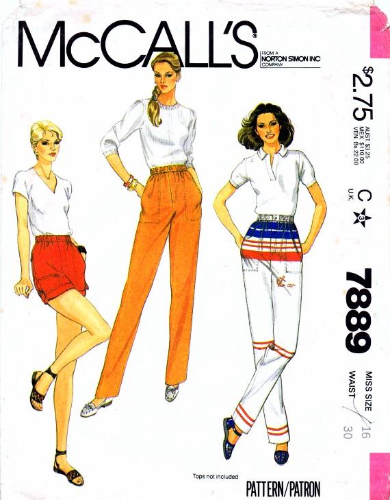 McCall's 7889