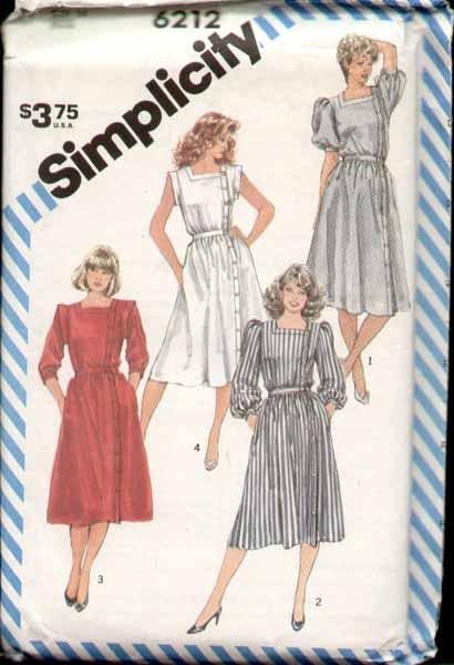 Simplicity 6212 A