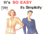 Simplicity 7384 C