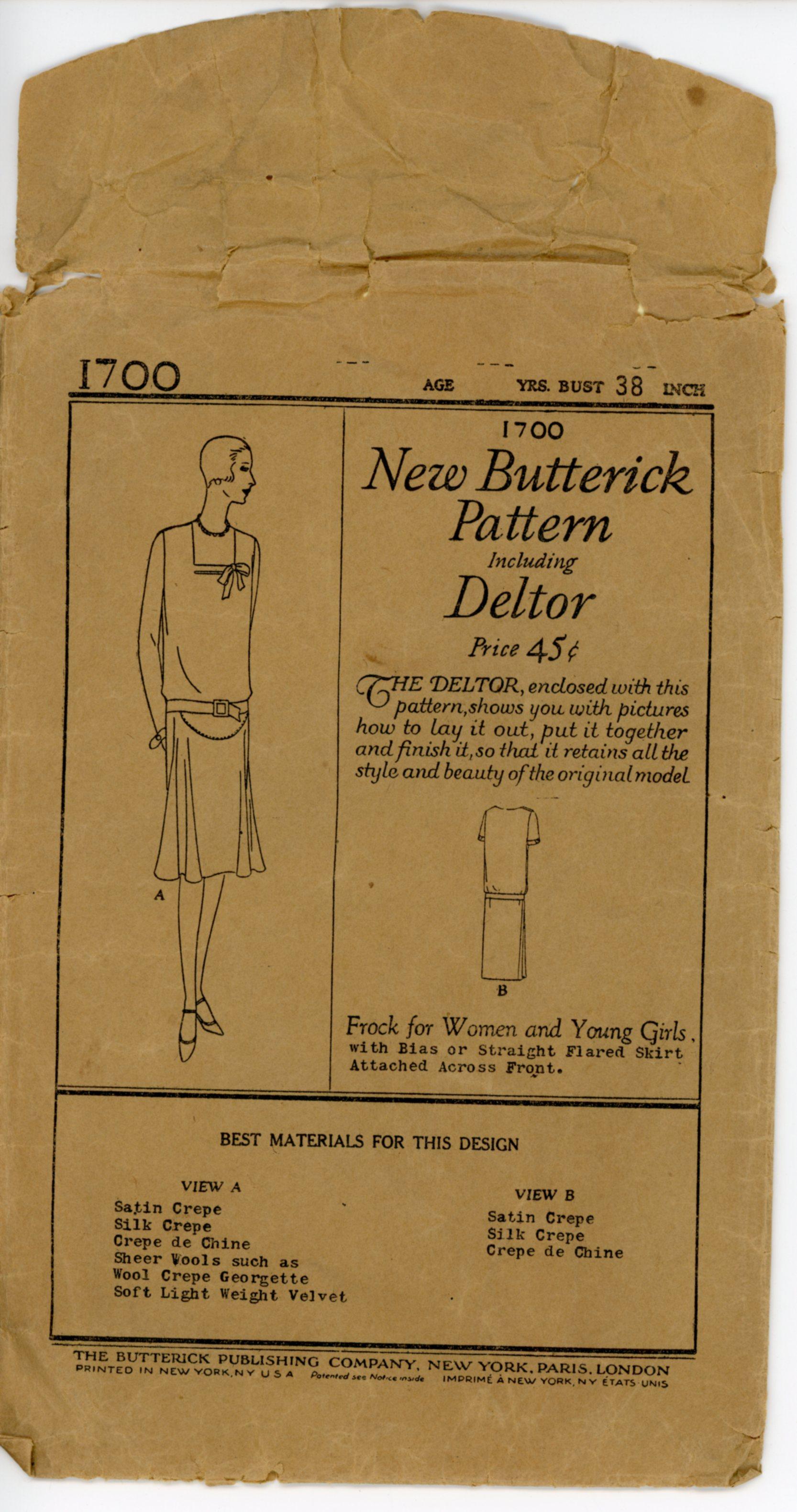 Butterick 1700