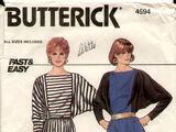 Butterick 4594 A