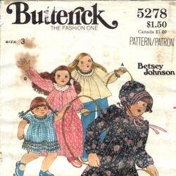 Butterick 5278