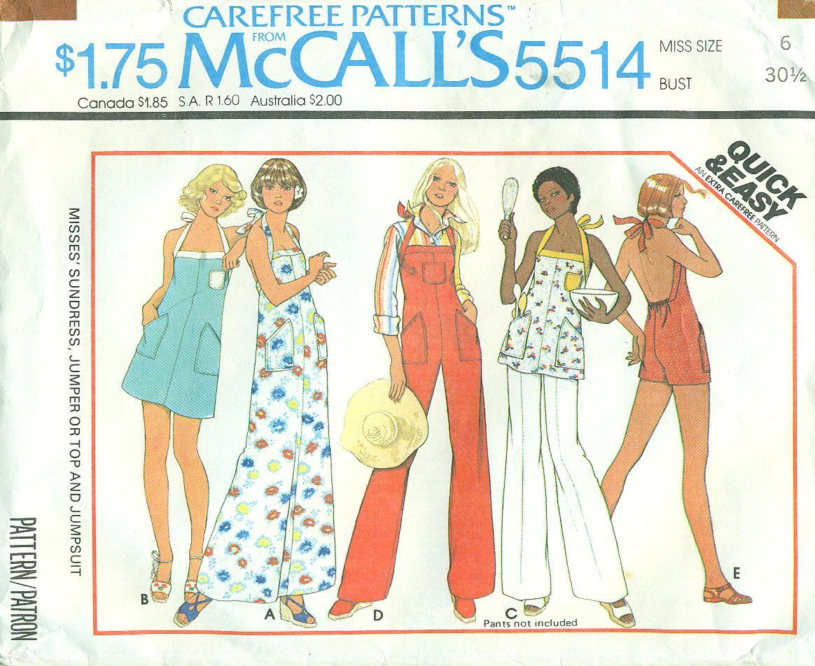 McCall's 5514 B