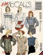 McCalls 1990 5039 F Size 10 - 14