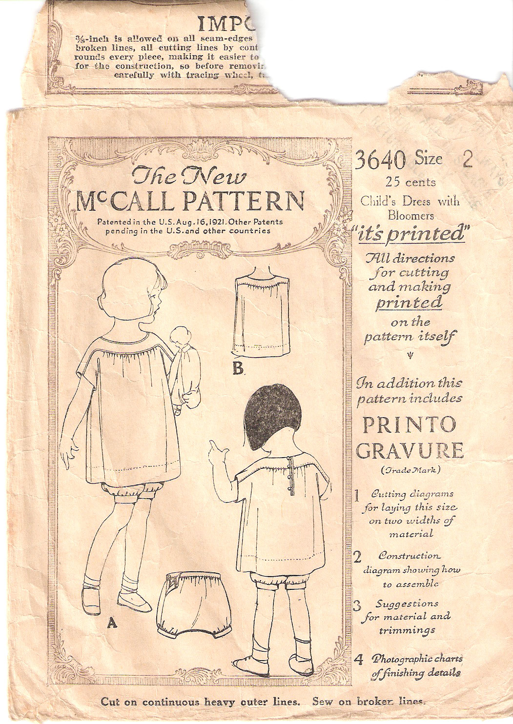 McCall 3640