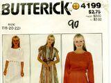 Butterick 4199